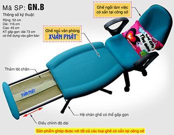 Ghế ngủ văn phòng GN B