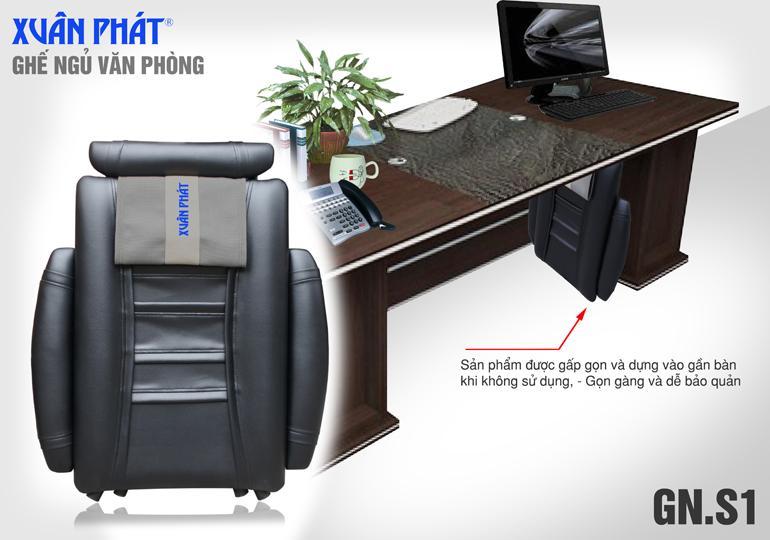 Ghế ngủ văn phòng dành cho Sếp GNS1 (Gấp gọn)